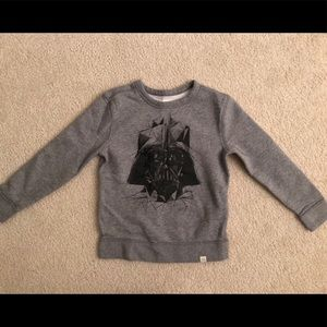 Boys Star Wars sweatshirt size 6-7